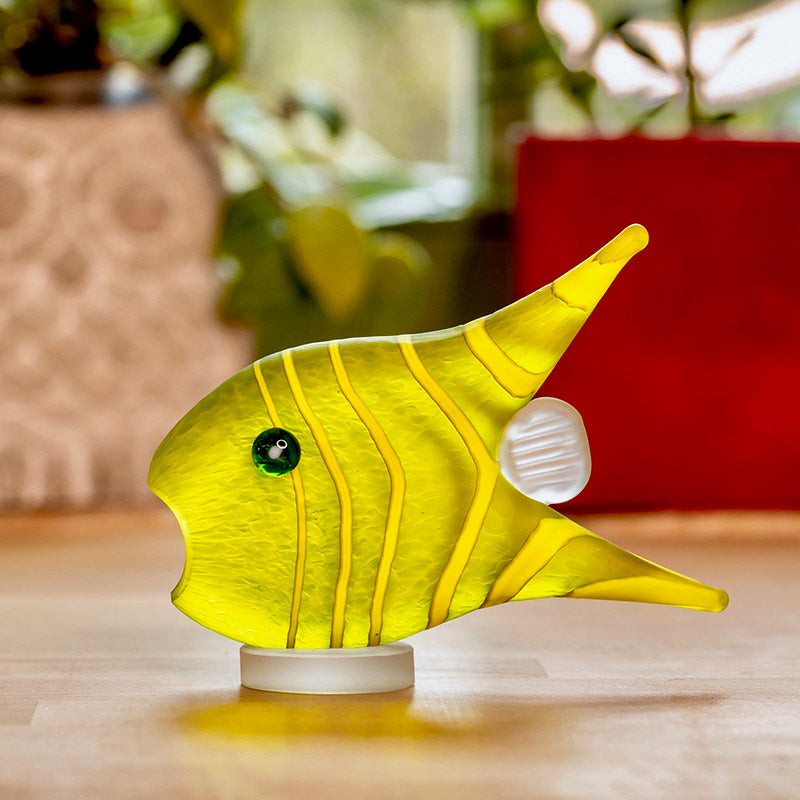 GILLY FISH - Souvenir, Souvenir, [Borowski Art Glass in Asia]