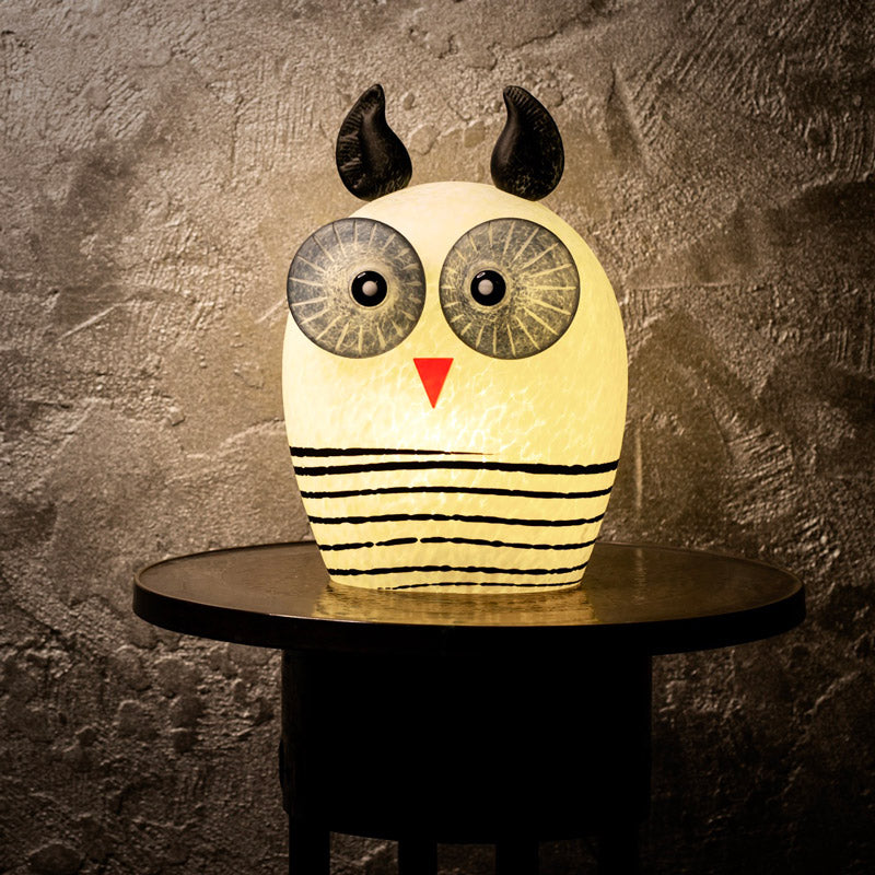 OWL - Table lamp, Table lamp, [Borowski Art Glass in Asia]