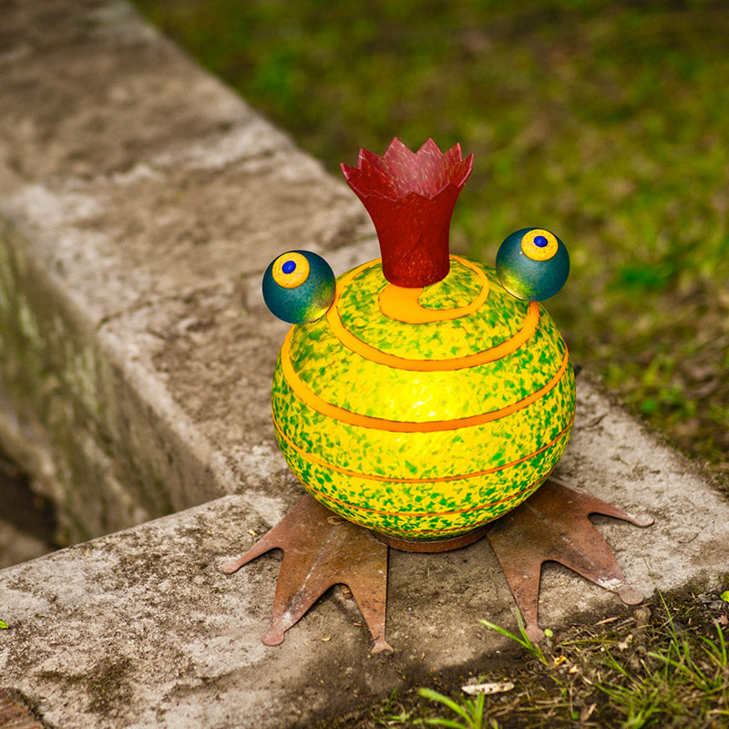 FROGGY - Light object, Illuminated object, [Borowski Art Glass in Asia]