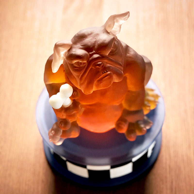 BOUNCER - Masterwork by SJB, Masterpiece, [Borowski Art Glass in Asia]