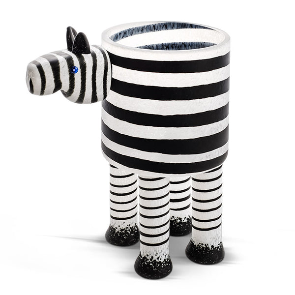 ZEBRA - Vase, Vase, [Borowski Art Glass in Asia]