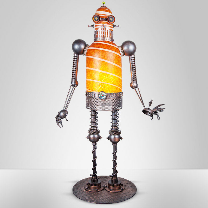 MECHANICAL DUDE - Masterwork by SJB, Masterpiece, [Borowski Art Glass in Asia]