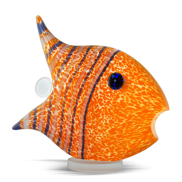 ANGELFISH MEDIUM - Paperweight, Paperweight, [Borowski Art Glass in Asia]