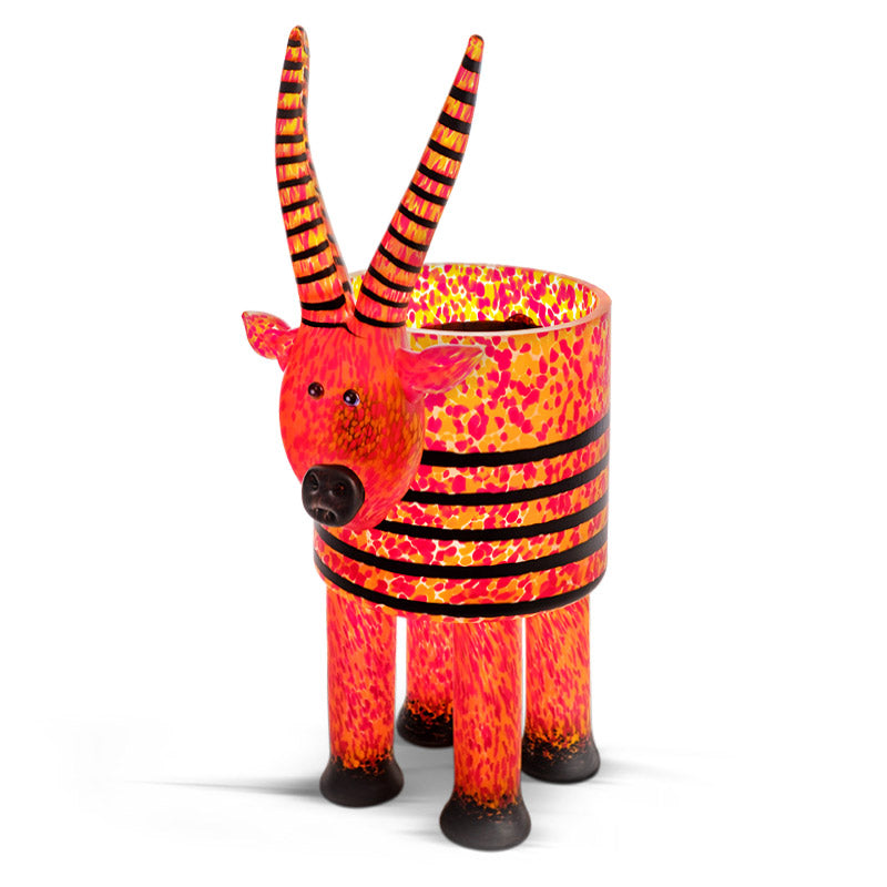 ANTILOPE - Vase, Vase, [Borowski Art Glass in Asia]