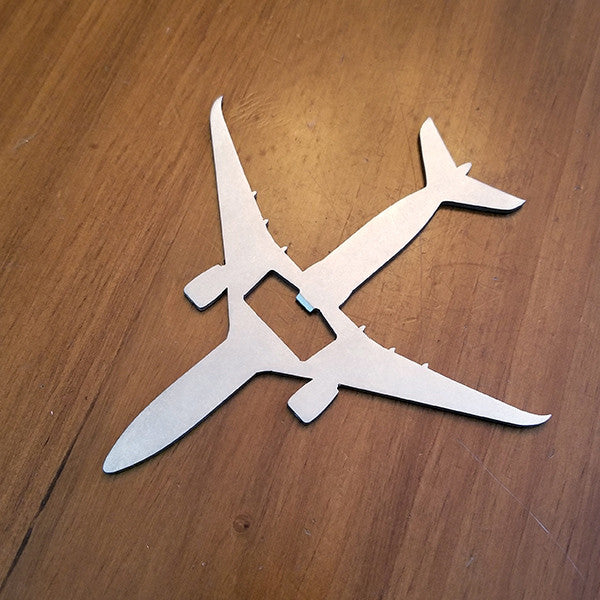 Airbus A350 Airliner Bottle Opener - PLANEFORM