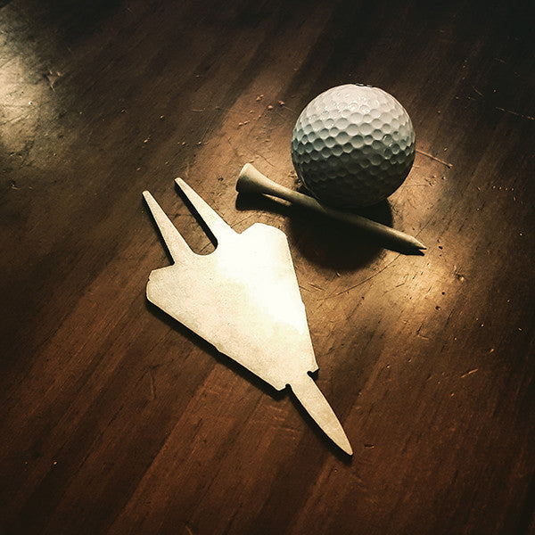 F-14 Tomcat Golf Divot Repair Tool - PLANEFORM