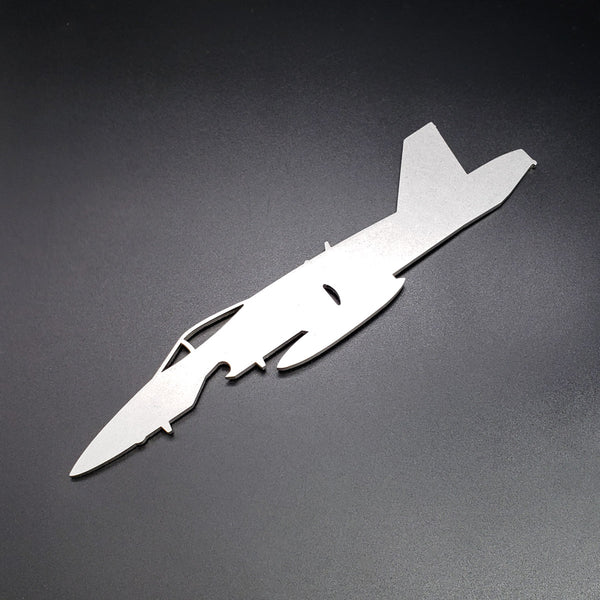 F/A-18C Hornet Side Profile Bottle Opener - PLANEFORM