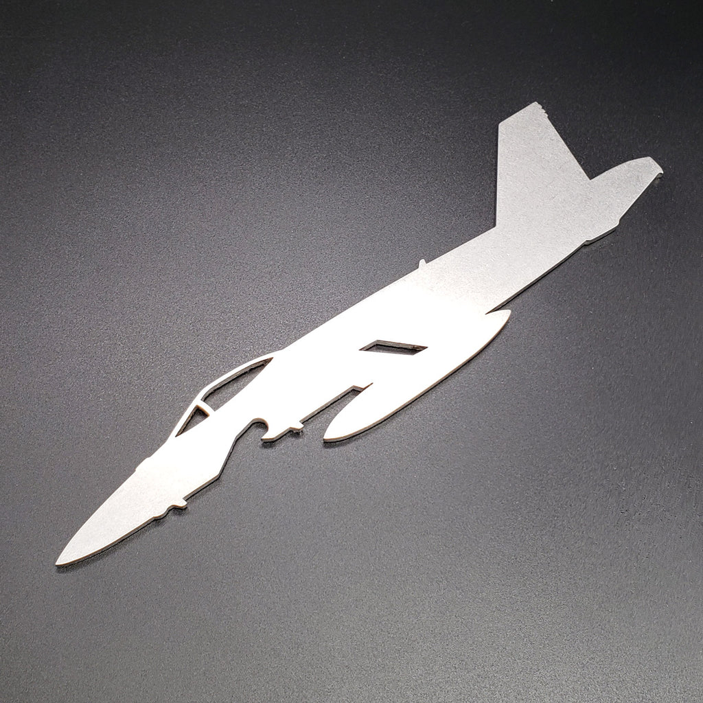 F/A-18E Super Hornet 'Rhino' Side Profile Bottle Opener - PLANEFORM