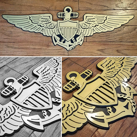 Wings - Naval Aviator Premium Wall Art - PLANEFORM
