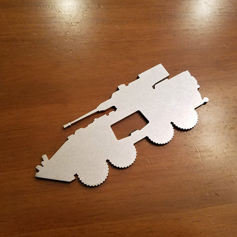 LAV-25 Light Attack Vehicle Bottle Opener - PLANEFORM