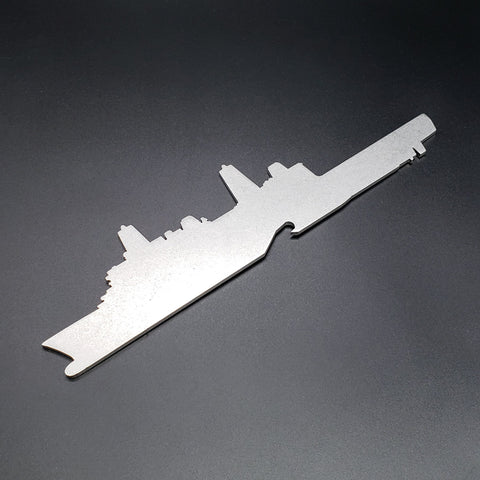 San Antonio Class LPD Amphibious Platform Dock Ship Bottle Opener - PLANEFORM