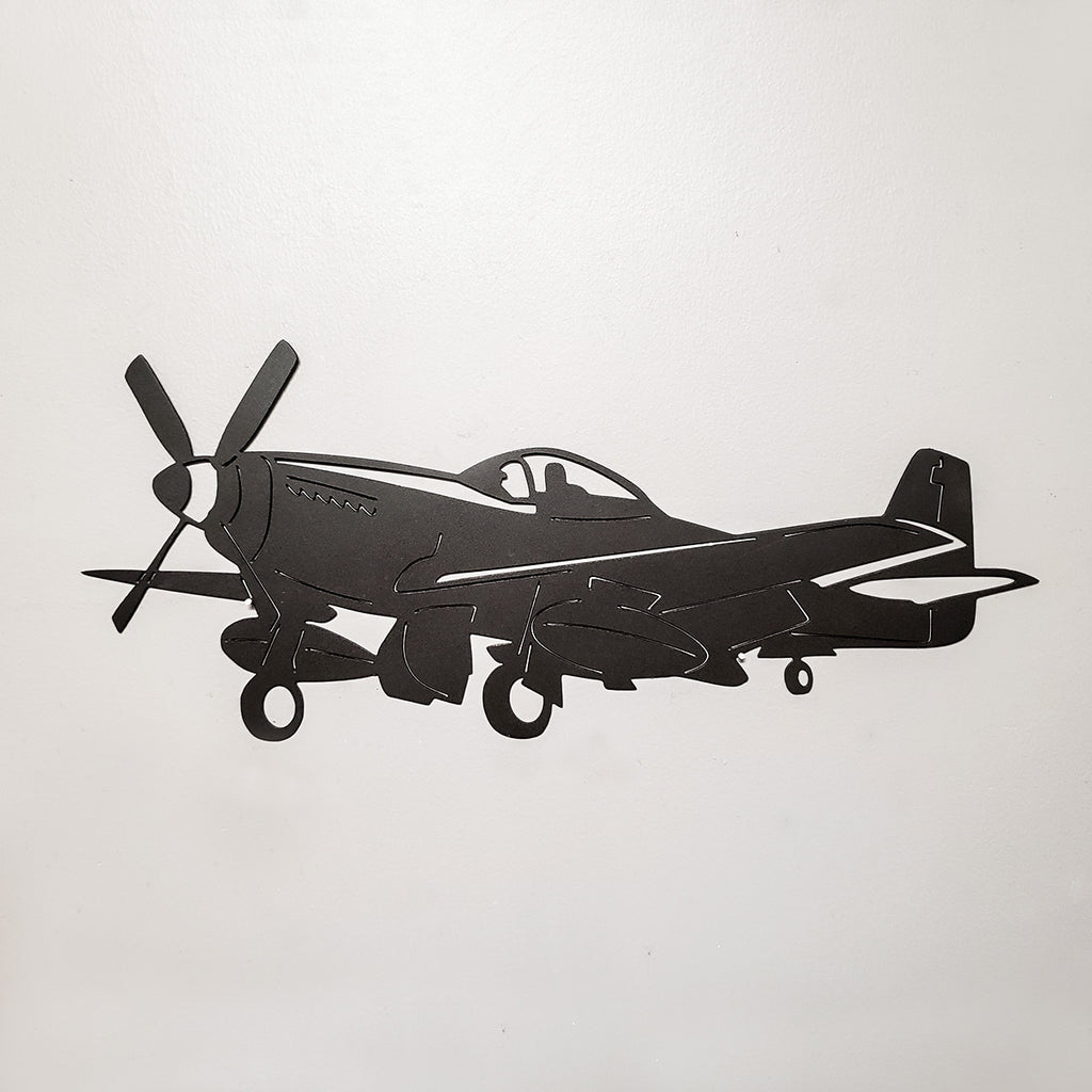 Dynamic Aircraft Silhouette Wall Art - PLANEFORM