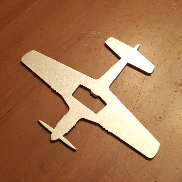 P-51D Mustang Bottle Opener - PLANEFORM