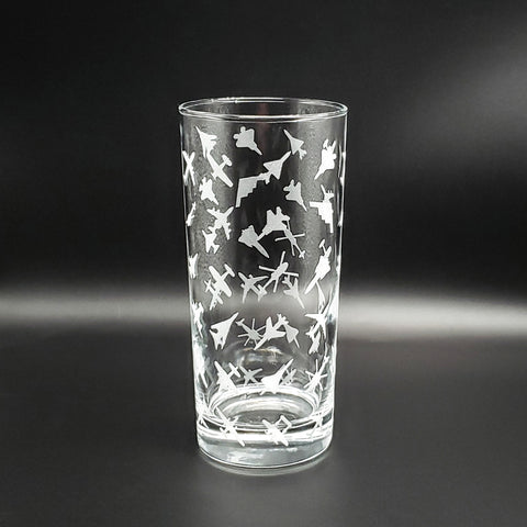 Planeform Patterned Pint Glass - PLANEFORM