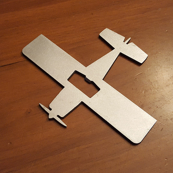 RV-6 Vans Kit Plane Bottle Opener - PLANEFORM
