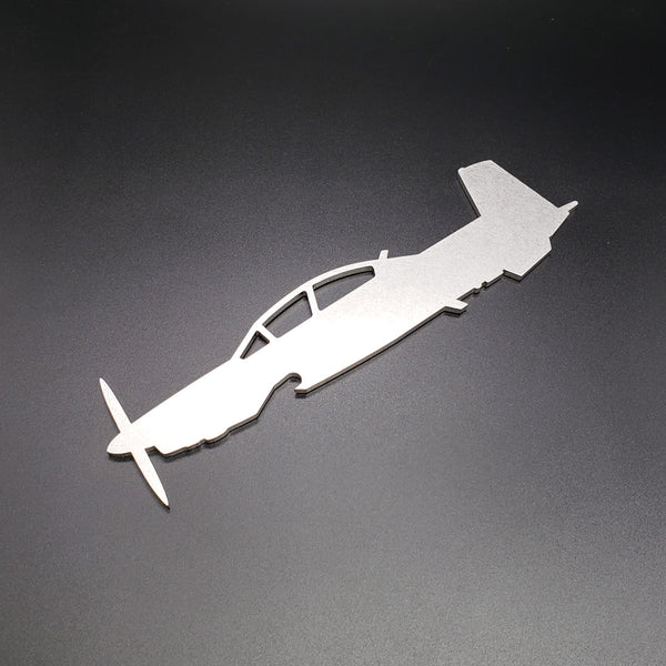 T-6A/B Texan II Side Profile Bottle Opener - PLANEFORM