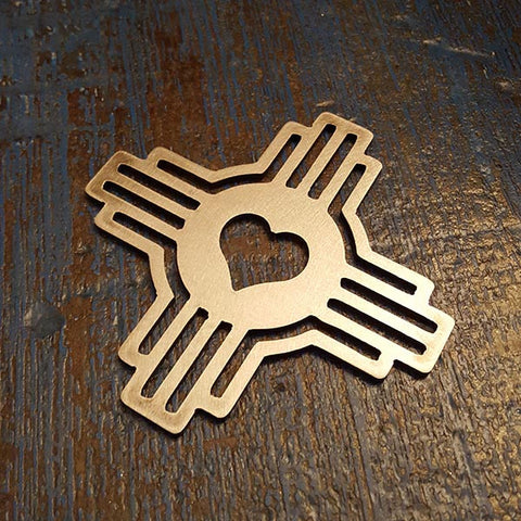 Zia 'Love New Mexico' Bottle Opener - PLANEFORM
