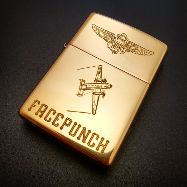 Custom Engraved Zippo Lighter - PLANEFORM