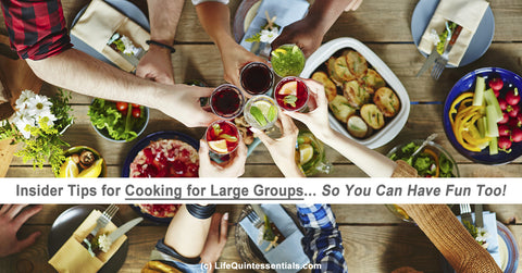 Insider Tips for Cooking for Large Groups