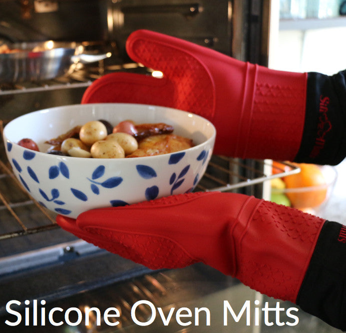 Sili-Mitts Silicone Oven Mitts