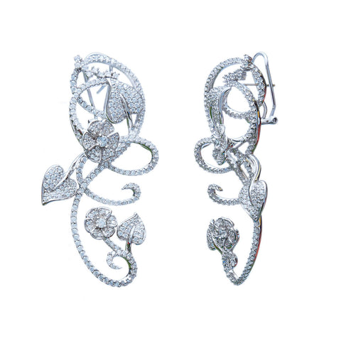 Love is in the Air Bridal Earrings