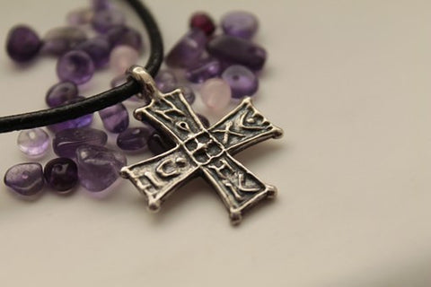 Amethyst and Cross