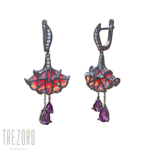 Ballerina Earrings by Designer Gigi Cheng