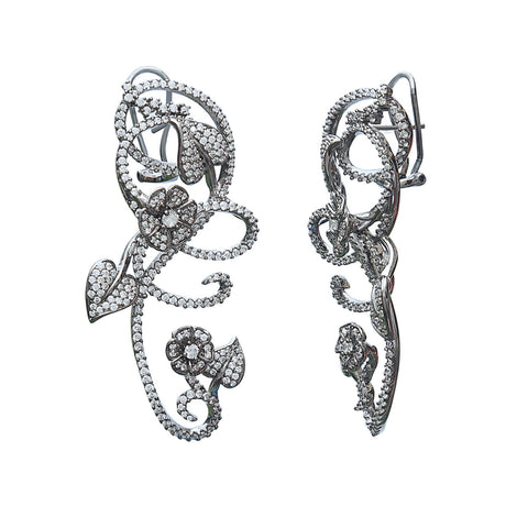 Love is in the air bridal earrings online