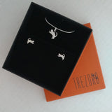 Kittens Sterling Silver Jewellery Set in Gift Box