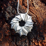 Sterling Silver Pendant Necklace Contemporary Unusual Jewellery