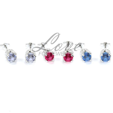 Crown Earrings Set - Bright Series