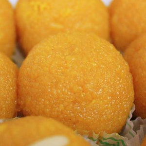 Motichoor Laddu (Vegan sweet)