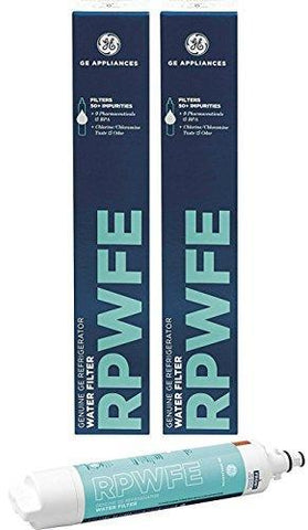 GE RPWFE Refrigerator Water Filter Replaces Model RPWF (2 Pack)