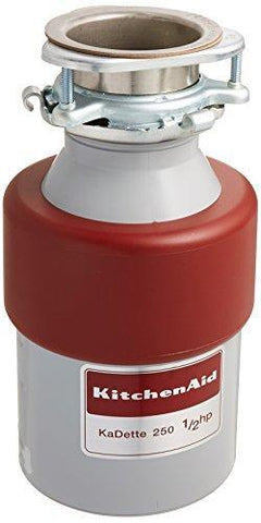 Kitchen Aid (84211643) KCDB250G 1/2 HP Continuous Feed Garbage Disposal