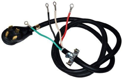 Whirlpool PT400L 4-Feet 4 Wire 30-Amp Dryer Power Cord