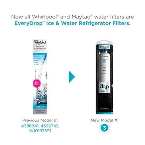 Whirlpool Water Filter 4396841 4396710 EDR3RXD1