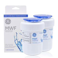 (2 Pack) GE MWF MWFP Refrigerator Water Filter Replacement Cartridge