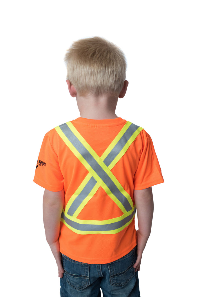 Gen 2 Hi Viz Kids Safety Shirt Orange
