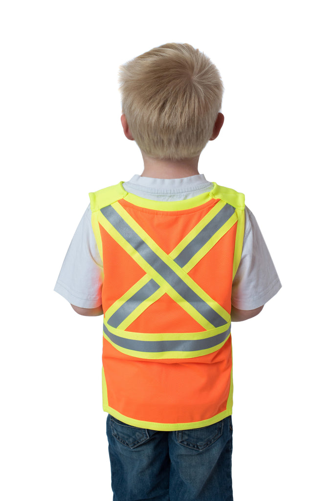 Gen 2 Hi Viz Kids Safety Vest Orange
