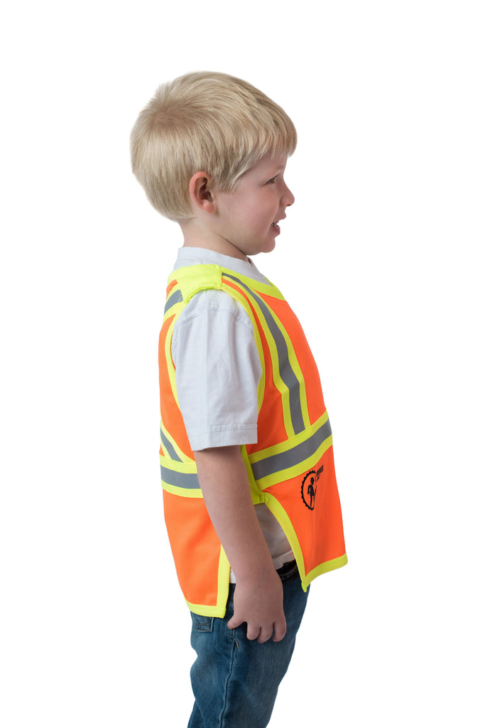 Gen 2 Hi Viz Kids' Safety Vest Orange