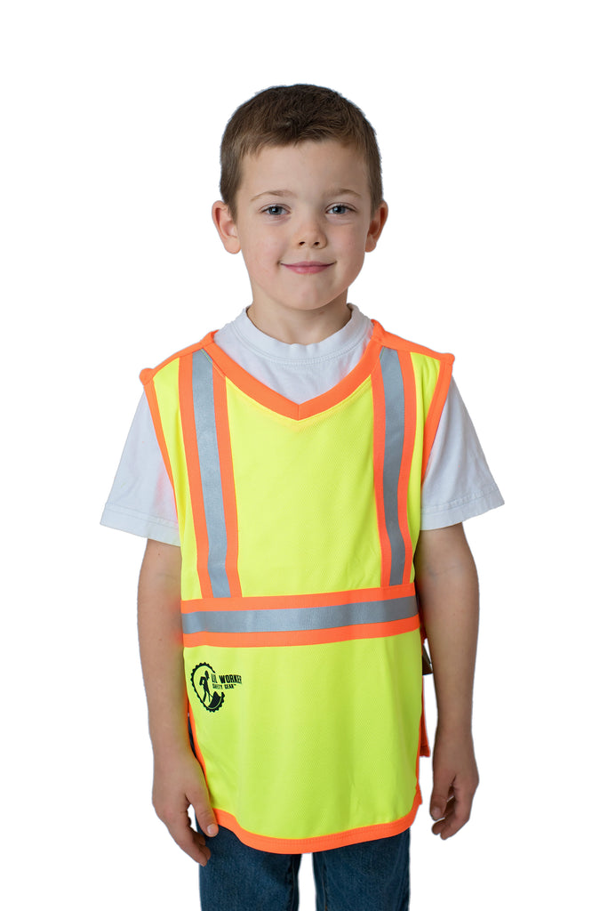 Hi Viz Kids Safety Vest Yellow