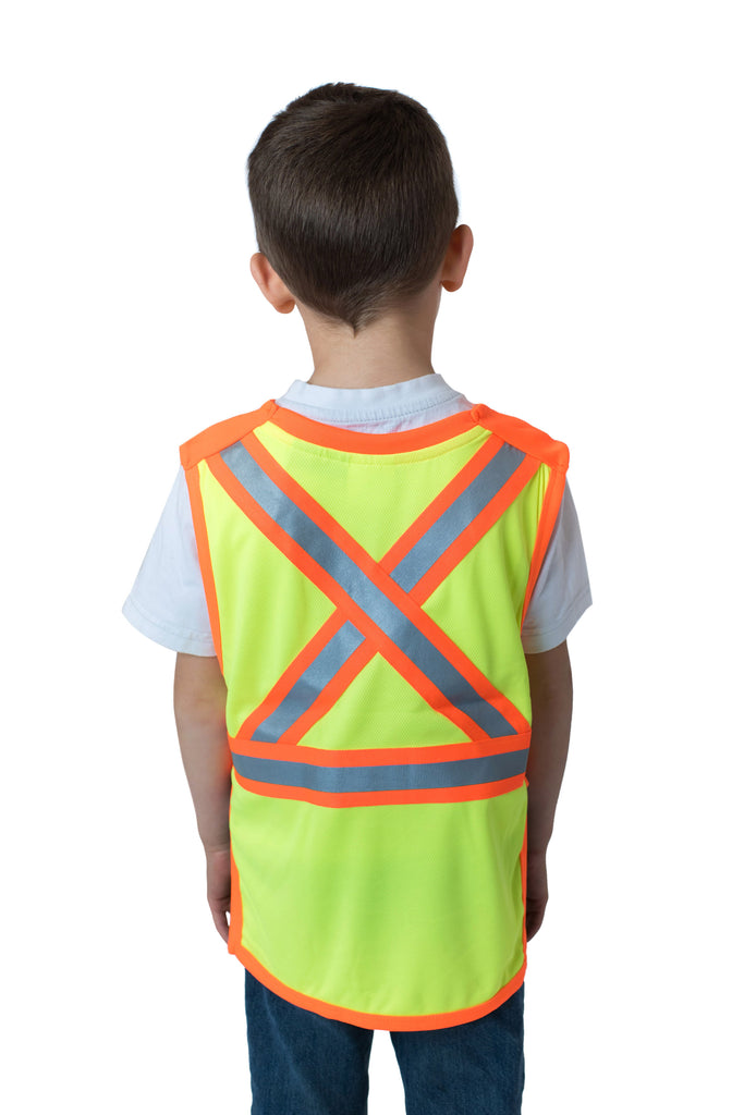 Gen 2 Hi Viz Kids' Safety Vest Yellow