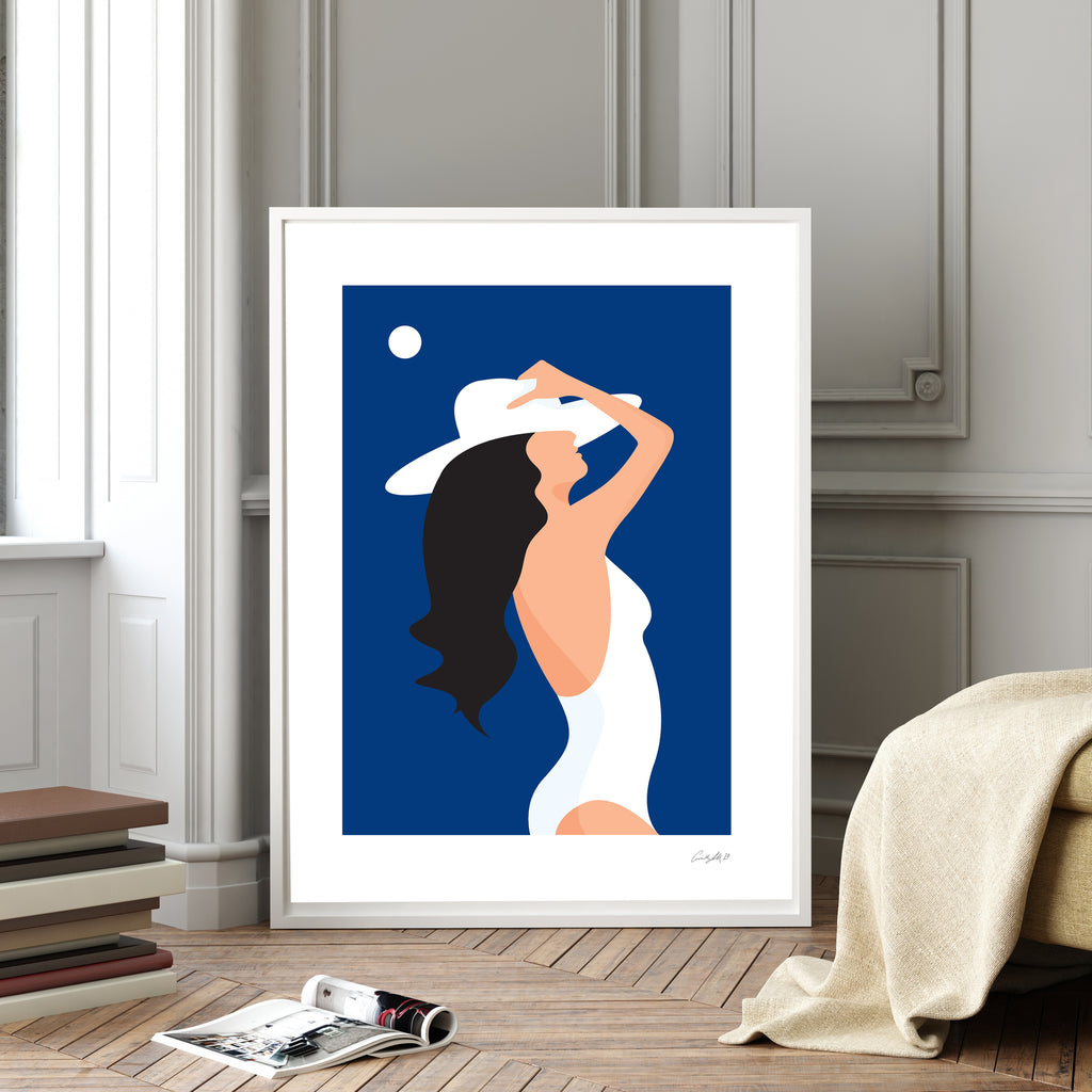Limited Edition (Giclée print) Print - Summer Blues