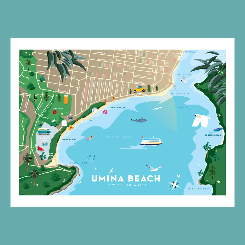 Umina Beach Map