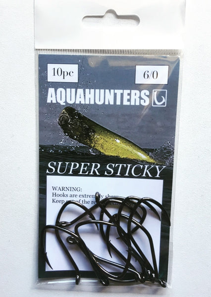 Super Sticky live bait hook (J hook)
