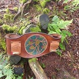 Hero Belt with Hand Tooled Central Panel