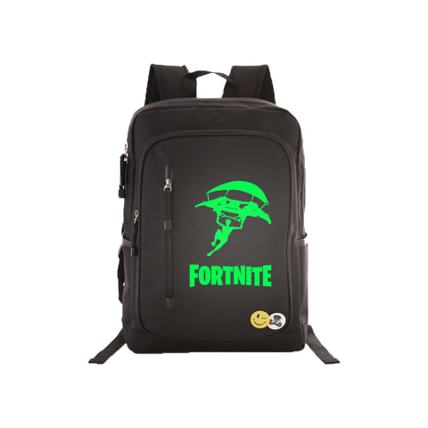 "Game Fortnite 17"" Luminous Backpack - Green Luminous - icoshero"