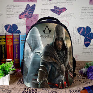 Assassin's Creed Canvas Color Bag Backpack - icoshero