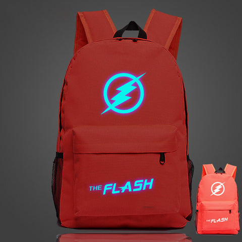 DC Comic The Flash Luminous Computer Backpack 19X12'' - icoshero