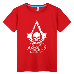Assassin's Creed IV Black Flag Short T-shirt - icoshero